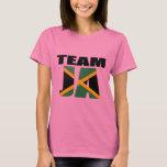 Team Ja Jamaican Flag T-shirt