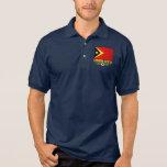 Timor-Leste Flag Polo Shirt