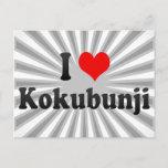 I Love Kokubunji, Japan Postcard