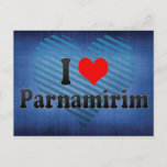 I Love Parnamirim, Brazil Postcard