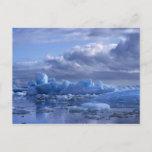 South America, Chile, San Rafael Lagoon NP. Postcard