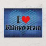 I Love Bhimavaram, India Postcard