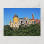 Pena Palace, Sintra, Portugal Postcard