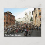 Spanish Steps Postcard