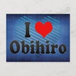 I Love Obihiro, Japan. Aisuru Obihiro, Japan Postcard
