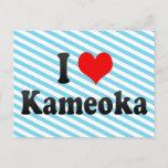 I Love Kameoka, Japan Postcard