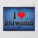 I Love Bhiwandi, India Postcard