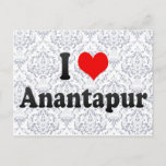 I Love Anantapur, India Postcard