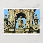 St James, Santiago de Compostela Cathedral, Spain Postcard