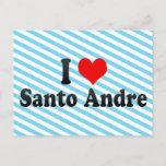 I Love Santo Andre, Brazil Postcard