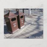 Recycle bin, BeiHai Park Postcard