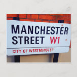 <QiYao> Manchester Street W1 Postcard