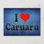 I Love Caruaru, Brazil Postcard