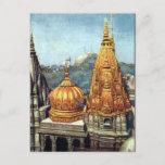 Old Postcard - Benares (Varanasi), India