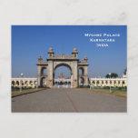Mysore Palace India Vintage Tourism Travel Add Postcard