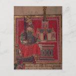 Cott Nero D VIII Offa, King of Mercia Postcard