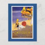 Cattolica Vintage Italian Travel Poster Postcard