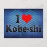 I Love Kobe-shi, Japan. Aisuru Kobe-Shi, Japan Postcard