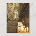 Interior of St. Peter's Cathedral in Regensburg Postcard