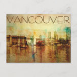 Vancouver Water Color Postcard