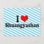 I Love Shuangyashan, China Postcard