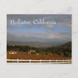 Autumn in Hollister, California Postcard