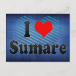 I Love Sumare, Brazil Postcard