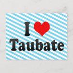 I Love Taubate, Brazil. Eu Amo O Taubate, Brazil Postcard