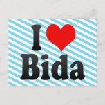 I Love Bida, Nigeria Postcard