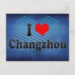 I Love Changzhou, China. Wo Ai Changzhou, China Postcard