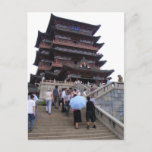 Tengwang Pavilion, China postcard