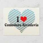 I Love Comodoro Rivadavia, Argentina Postcard