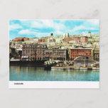 Vintage Italy,  Waterfront, Cagliari Postcard