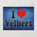 I Love Velbert, Germany Postcard