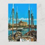 Vintage Spain, Mallorca, Palma Cathedral Postcard