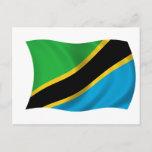Flag of Tanzania Postcard
