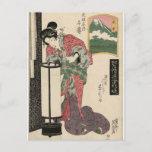 Numazu: Senju of the Ôsakaya by Keisai Eisen Postcard