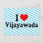 I Love Vijayawada, India Postcard