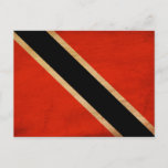 Trinidad and Tobago Flag Postcard