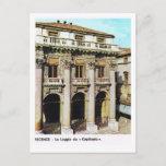 Vintage Italy,  Vicenza, Loggia  Capitania Postcard