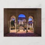 Postcard Valladolid Church, Granada, Spain