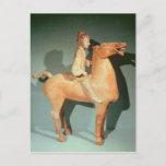 Horseman, from Xianyang, Shaanxi Postcard