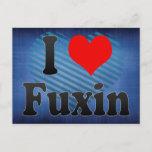 I Love Fuxin, China Postcard