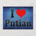 I Love Putian, China Postcard