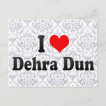I Love Dehra Dun, India Postcard