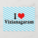 I Love Vizianagaram, India Postcard