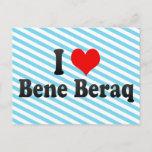 I Love Bene Beraq, Israel Postcard