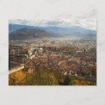 Grenoble view postcard