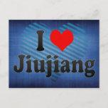 I Love Jiujiang, China Postcard