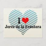 I Love Jerez de la Frontera, Spain Postcard